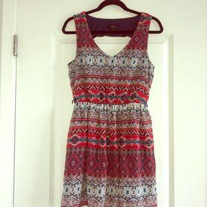 bd5f5a5a3fb6 BCX TJMaxx Brand Aztec Pattern Dress